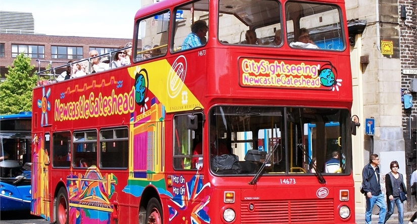 Newcastle City Sightseeing Bus Tour 13:15