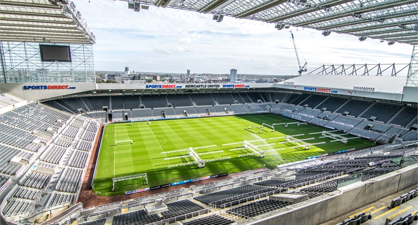 ST JAMES' PARK STADIUM TOUR