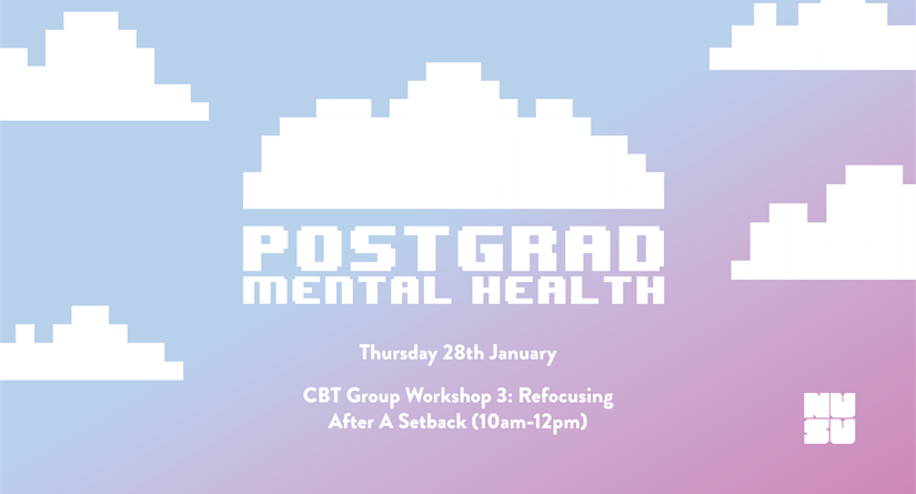 [FULL] CBT Group Workshop 3: Refocusing After A Setback