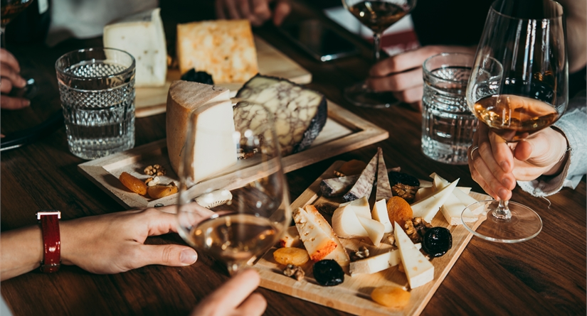 Cheese and Wine Tasting Session