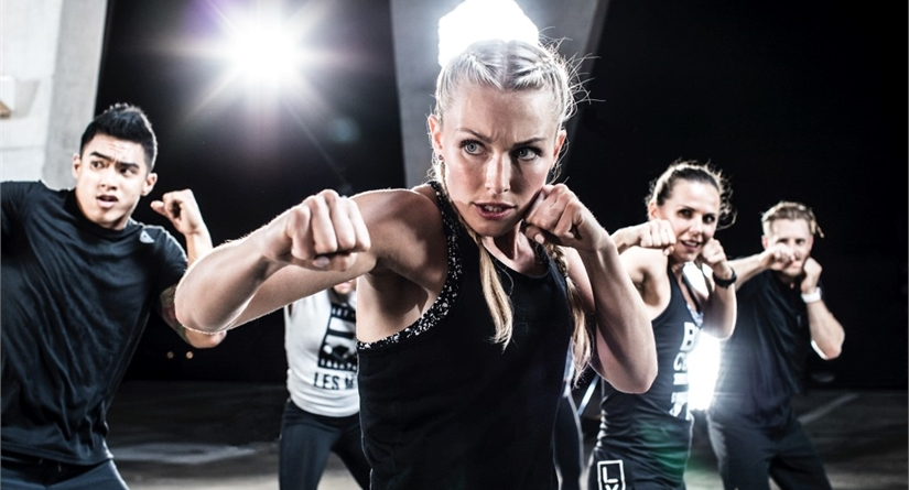 Les Mills BodyCombat Fitness Class