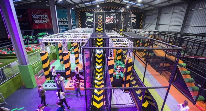 InflataSpace - UKs largest indoor inflatable theme park