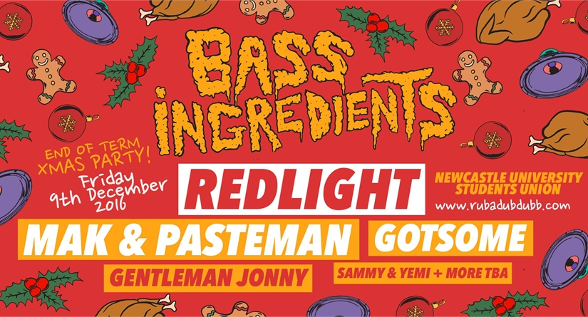 BASS INGREDIENTS FT REDLIGHT- 17/11/16
