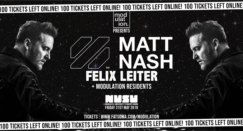 Modulation presents Matt Nash & Felix Leiter 31.05.19
