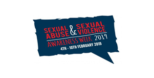 Sexual Abuse and Sexual Violence Awareness Week Logo