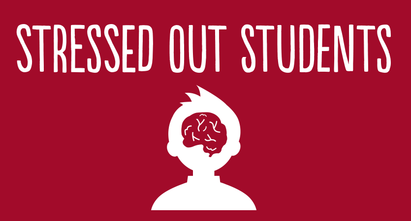 Stressed out students logo