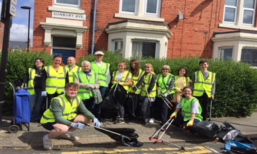 Leave Newcastle Happy litter pick