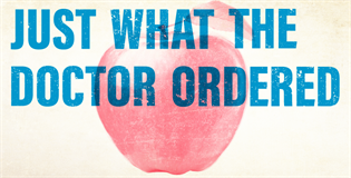 Image of 'Just what the doctor ordered' Campaign for encouraging students to register with a general
