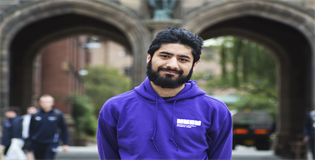 Haaris Qureshi 2018/19 Disability Officer